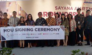 Damai Putra Group Gelar Groundbreaking Sayana Apartments di CBD Kota Harapan Indah