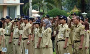 Mulai April, Seragam PNS Bekasi Pakai Pangkat dan Tanda Jabatan