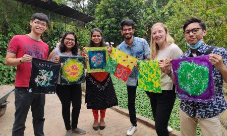Bekasi Jadi Magnet Pemuda 9 Negara Belajar Membatik