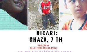Anak Berkebutuhan Khusus Hilang, Terakhir Berkeliaraan di Pondok Ungu