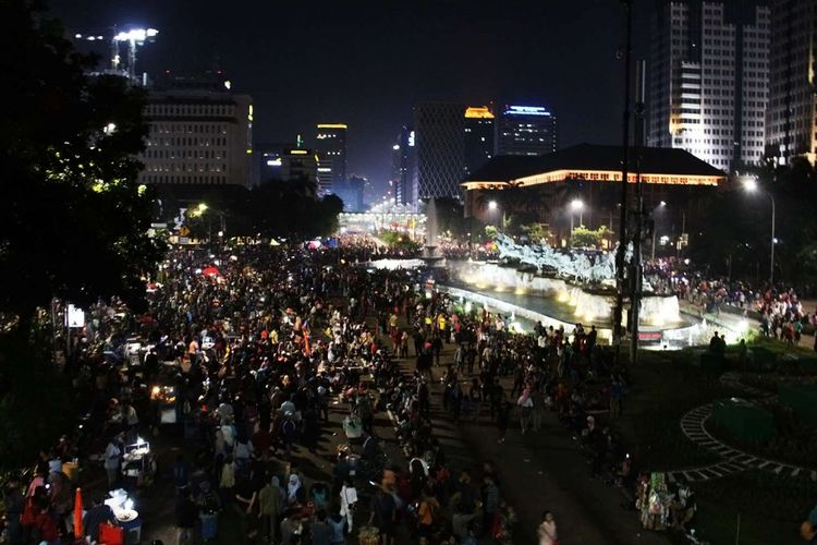 145 Personel Dishub Bekasi Siaga di 9 Titik Kemacetan pada Malam Tahun Baru
