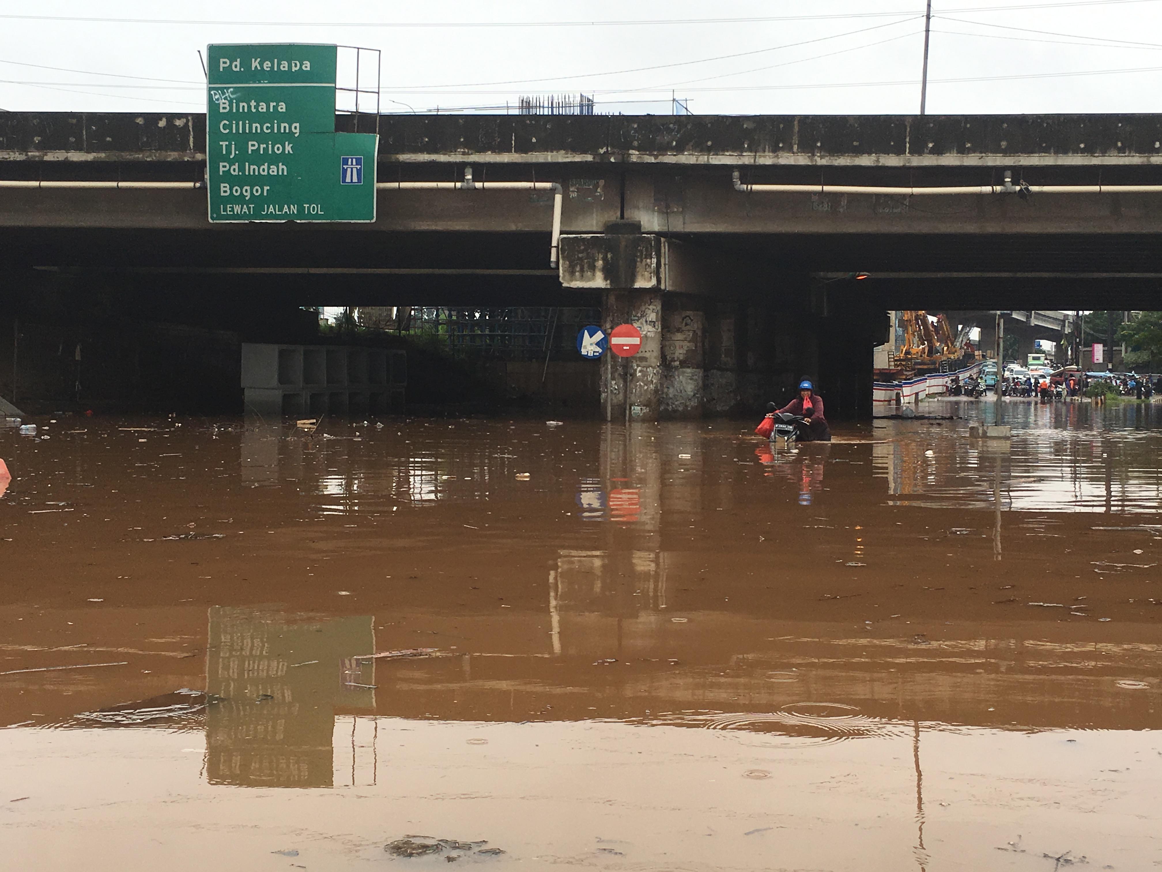 Backwater jadi Pemicu Banjir Parah di Kota Bekasi
