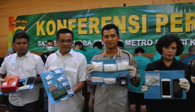 Di Bekasi, Polisi Sita Sabu Setengah Kilogram