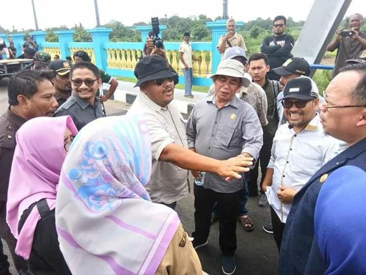 Jembatan Sepanjang 300 Meter Penghubung Bekasi-Karawang Rampung