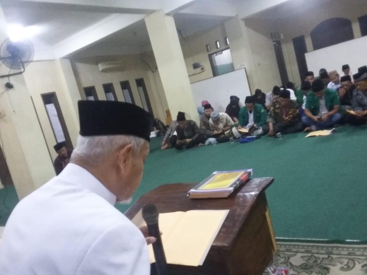 Gus Sholah Wafat, GP Ansor Kota Bekasi Kirim Doa