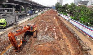 Dampak Proyek KCIC, Dishub Kota Bekasi Tutup Jalan Raya Cikunir Raya
