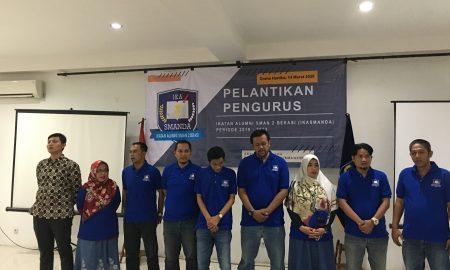 Pelantikan pengurus Ikasmanda Bekasi periode 2019-2022