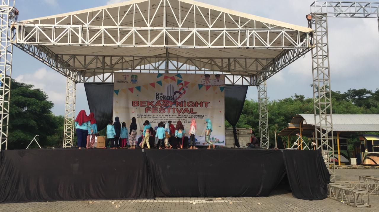 Status Corona di Indonesia Pandemi, Acara Bekasi Night Festival Ditunda