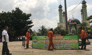Corona Meluas, Alun-Alun Kota Bekasi Mulai Ditutup