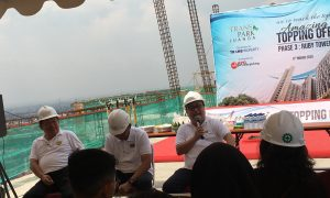 Transpark Juanda Topping Off Phase 3 Ruby Tower, 80 Persen Sudah Terjual