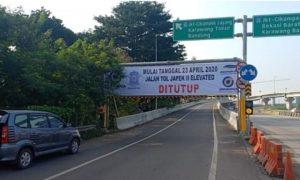 Larangan Mudik Diberlakukan, Ada Rencana Penutupan Jalan Tol Jakarta-Cikampek II Elevated