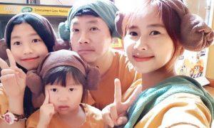 Foto Yannie Kim bersama Ko Incheol dan kedua anaknya. (Foto: dok. pribadi Yannie Kim)