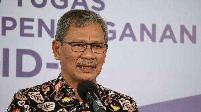 Juru Bicara Pemerintah untuk Penanganan Covid-19 Achmad Yurianto. (Youtube BNPB Indonesia)
