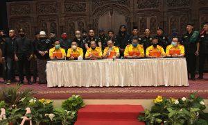 Kosgoro Kota Bekasi dan Pendekar Banten Desak DPR RI Cabut Pembahasan RUU HIP