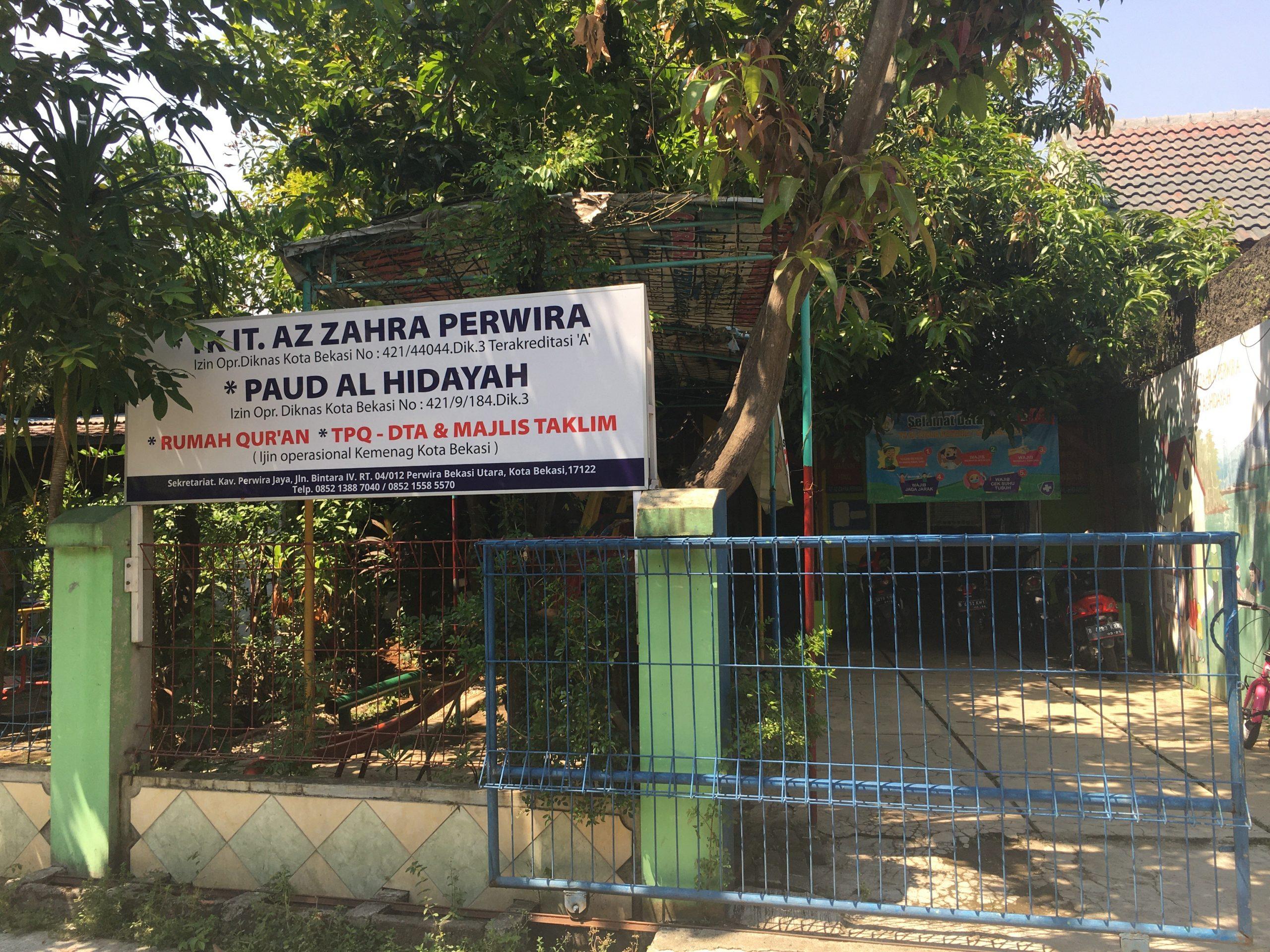 Lokasi Rumah Quran tempat Baim mengaji